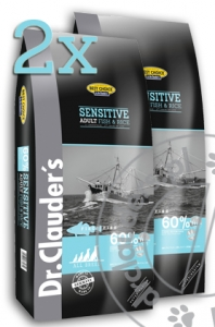 Dr.Clauder's Best Choice FISH & RICE - Karma sucha - RYBA & RYŻ - 2x12,5kg