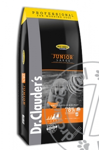 Dr.Clauder's Best Choice JUNIOR LARGE/GIANT - Karma sucha dla młodych psów - 20kg