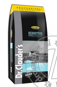 Dr.Clauder's Best Choice SENSITIVE ADULT FISH & RICE - Karma sucha - RYBY & RYŻ - 20kg