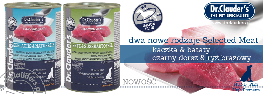 Dr.Clauder's Selected Meat - nowe rodzaje