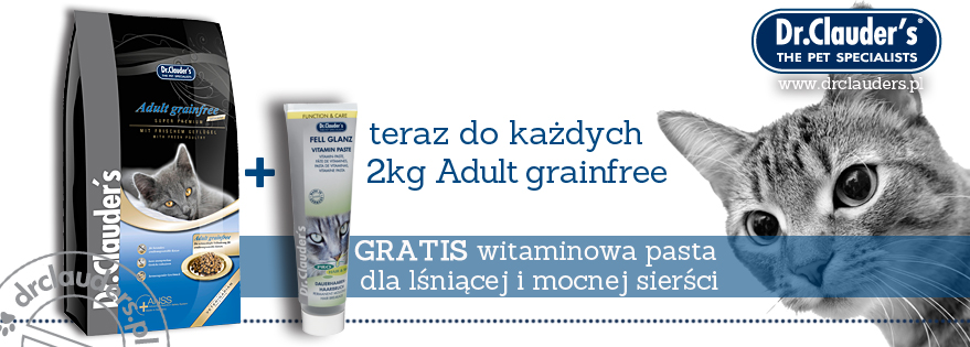 Grainfree Cat + FellGlanz GRATIS